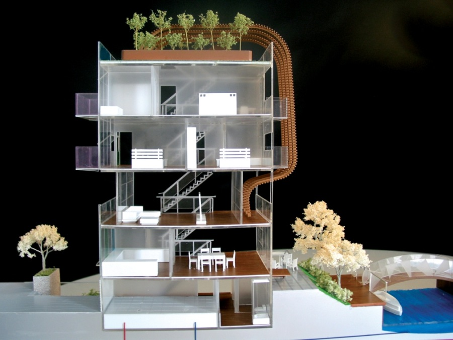scale models interior design 3
