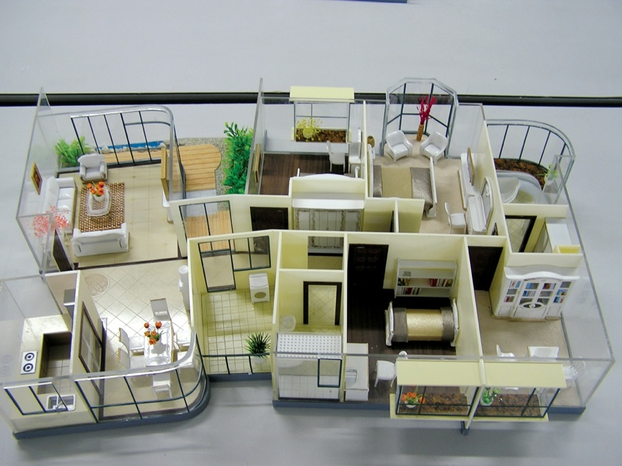 scale models interior design 5