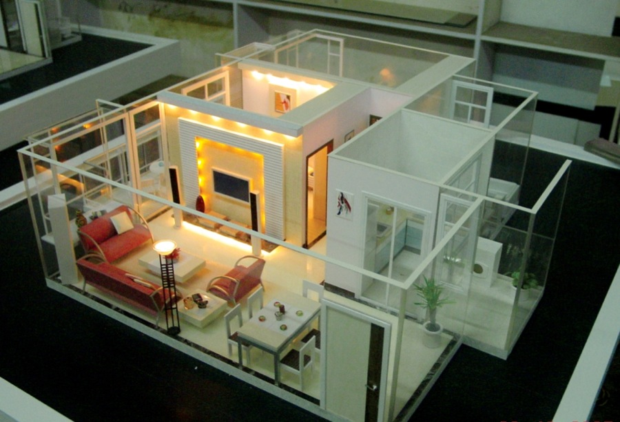 scale models interior design 2