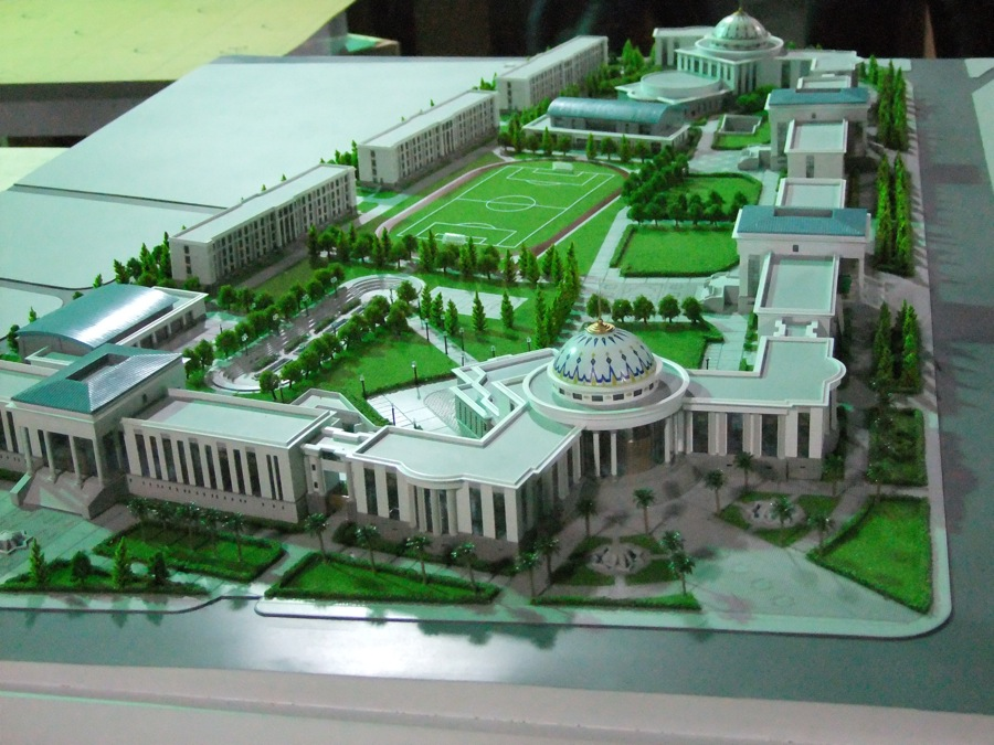 scale models official buildings 6