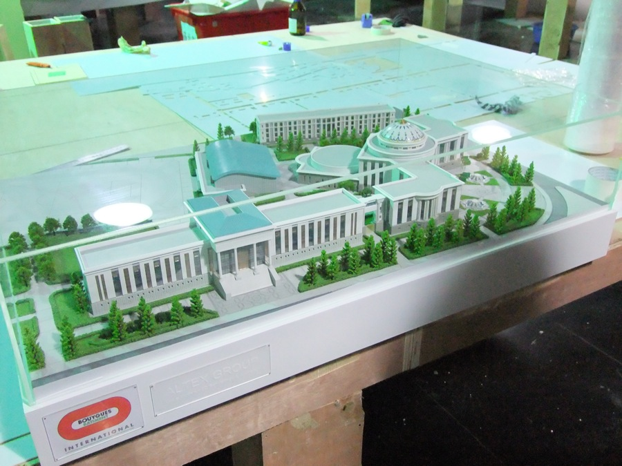 scale models official buildings 7