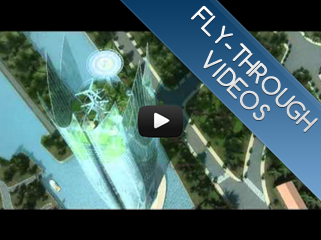Fly-through videos